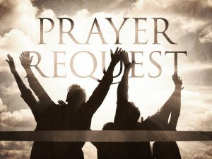 Prayer Requests - Council #2018